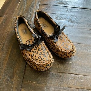 UGG cheetah slippers